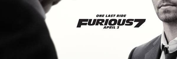 Furious 7 Poster Paul Walker