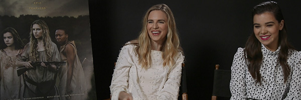 Brit Marling and Hailee Steinfeld Talk \'The Keeping Room\'   Collider