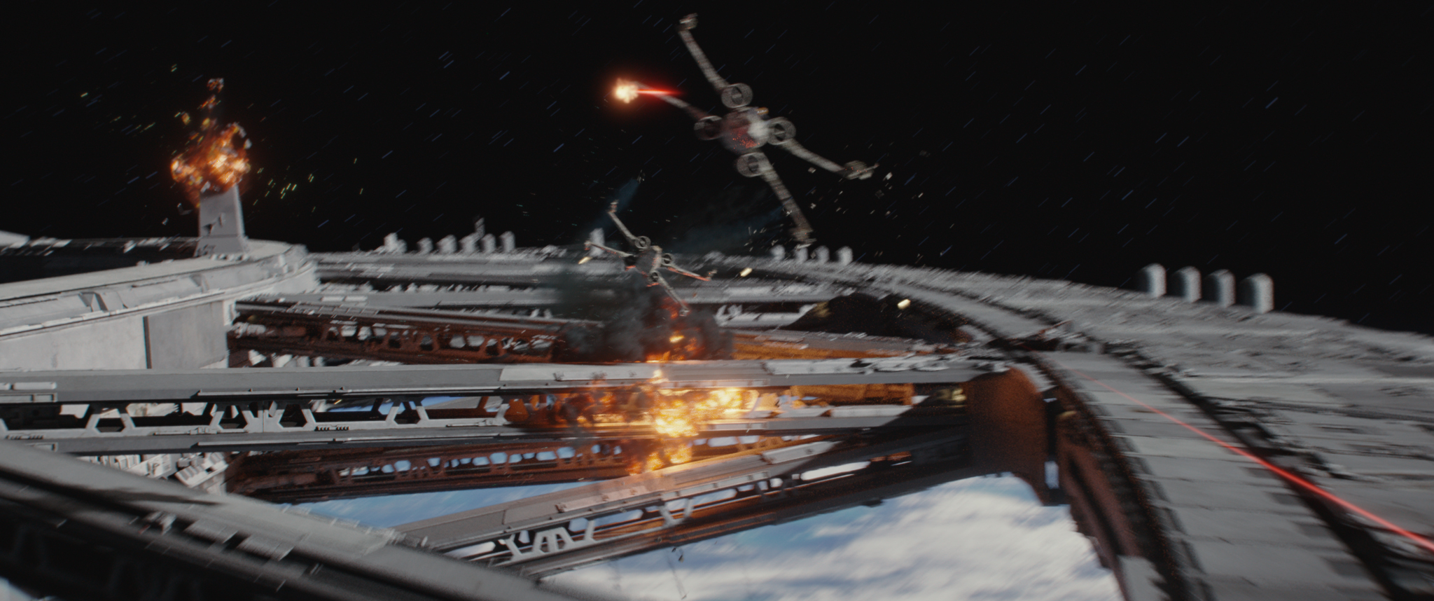 Rogue One Ending Meets A New Hope Beginning In New Clip Collider