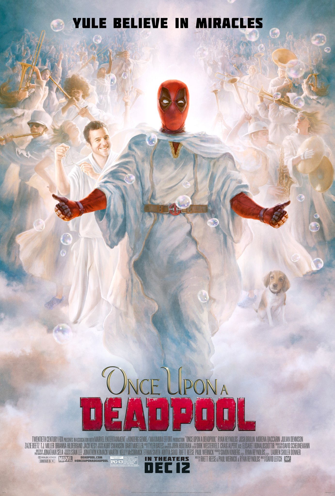 New Once Upon A Deadpool Poster Is Straight Up Heavenly