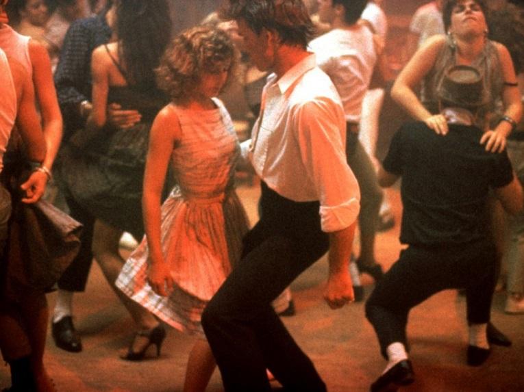 Dirty Dancing Lift In Water American Romantic Drama Dance Film Poster Photo