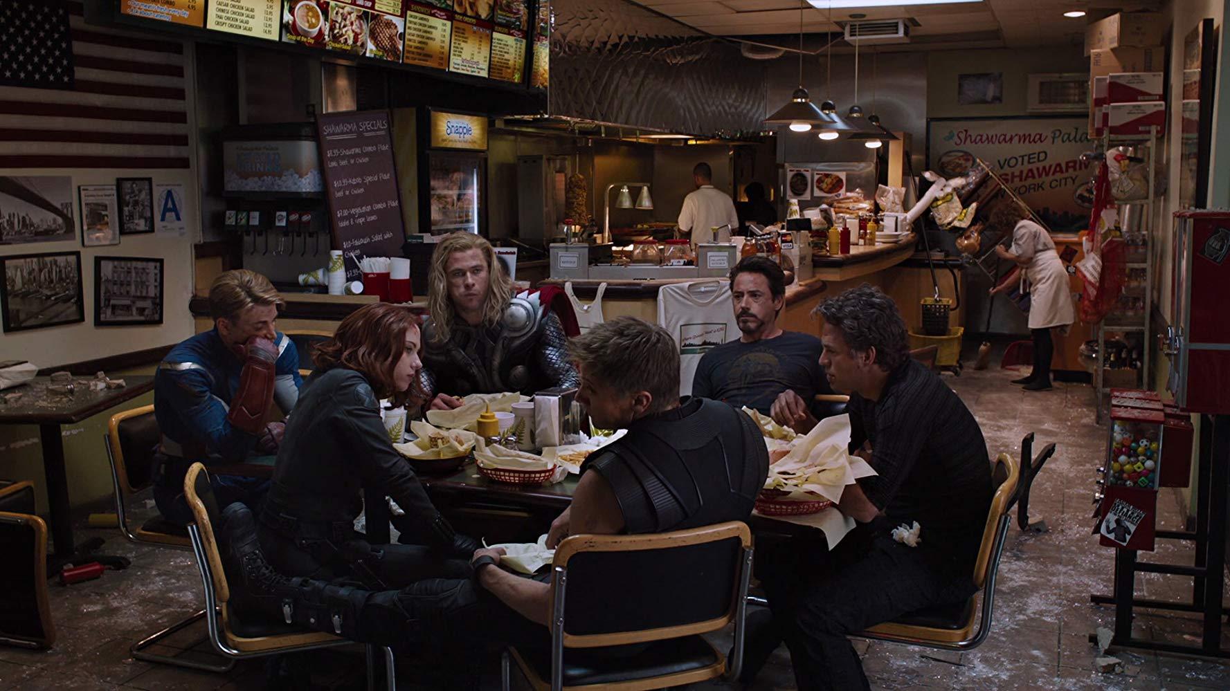 the-avengers-cast-shawarma
