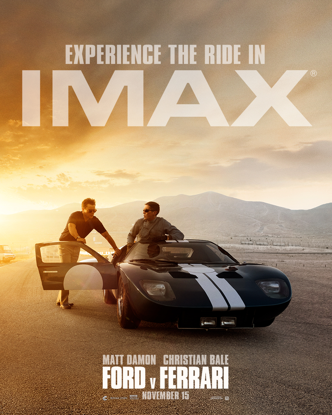 How To Attend Our Free Ford V Ferrari Imax Screening With James Mangold Q A
