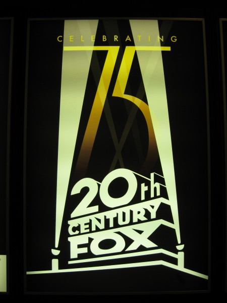 20th Century Fox movie poster 75th anniversary