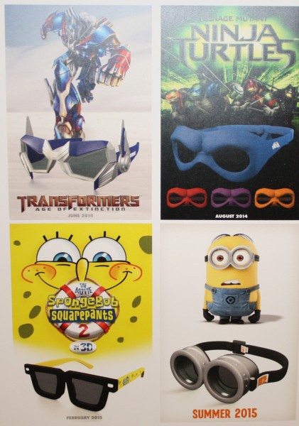 3d glasses spongebob squarepats 2