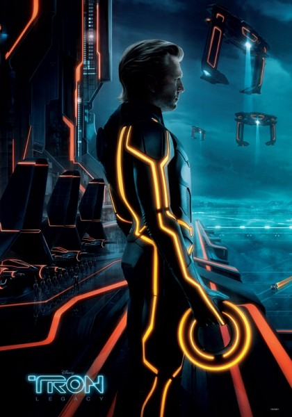 TRON: LEGACY Triptych Movie Poster Clu