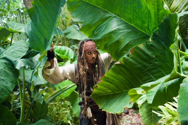 Johnny Depp PIRATES OF THE CARIBBEAN: ON STRANGER TIDES