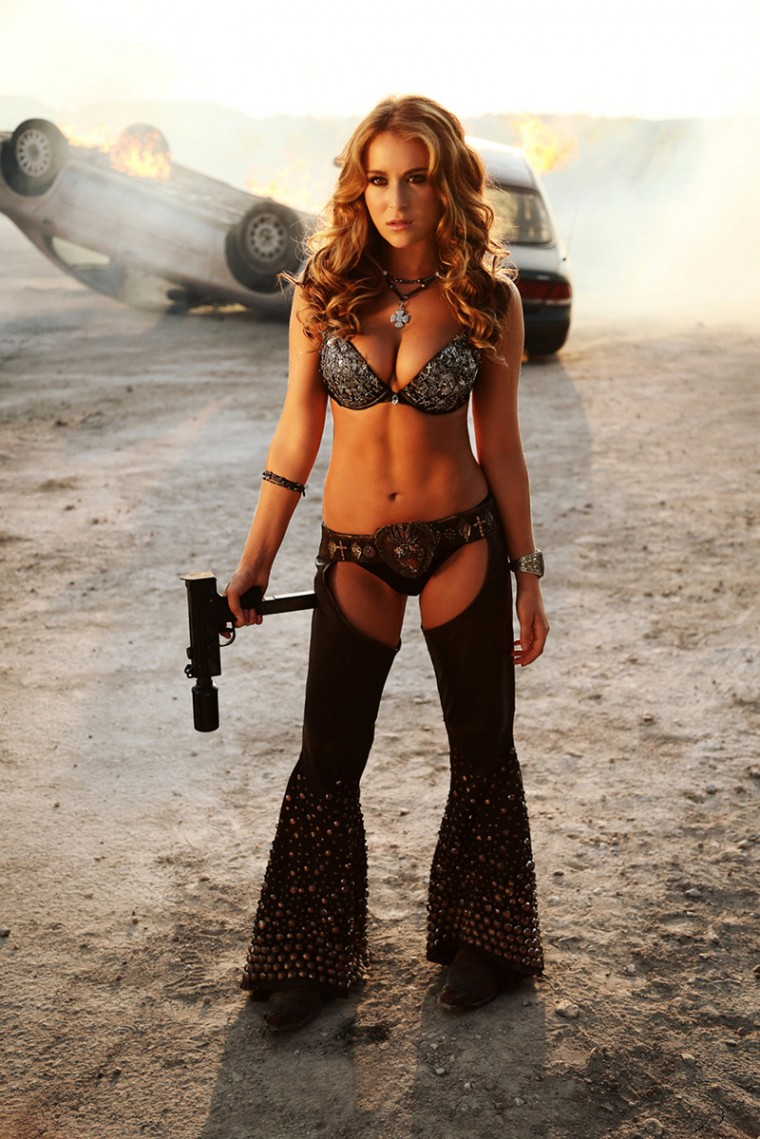 Alexa Vega Alexavega Exclusive Photo From Machete Kills