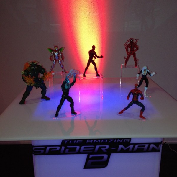 amazing spider man 2 sinister six toys