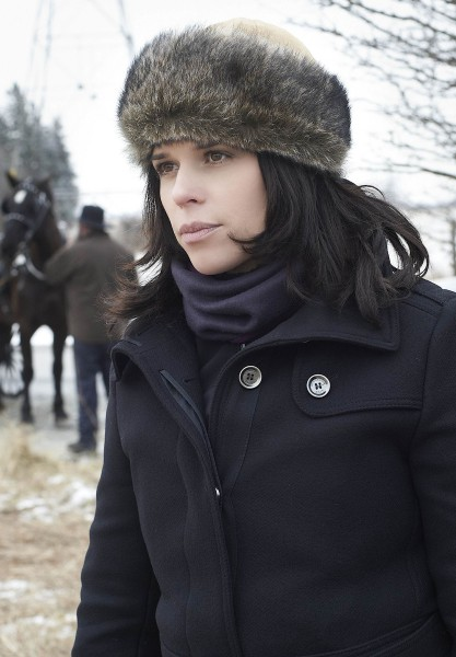 an amish murder neve campbell