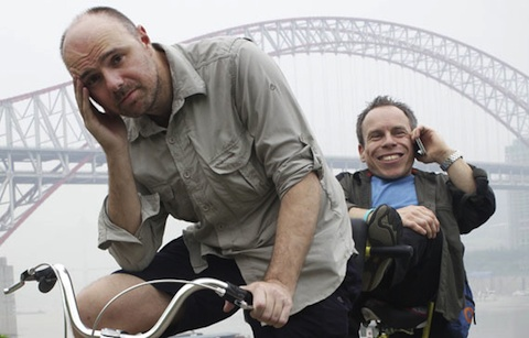 an-idiot-abroad-karl-pilkington-warwick-davis