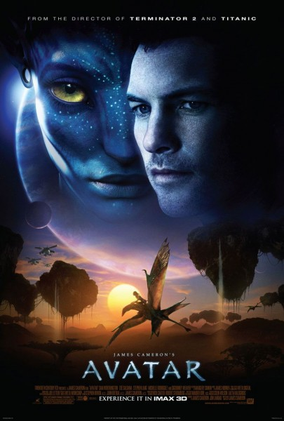 Avatar Movie Poster English. On the Avatar sequels and