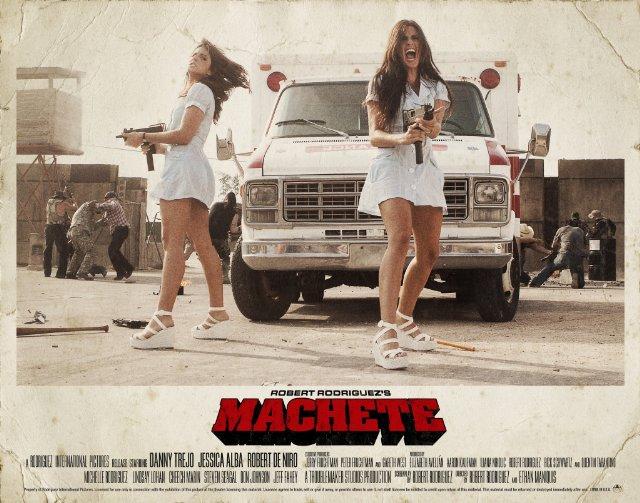 Entertainment Media Show (6/7 Oct 2012) Avellan-twins-nurses-machete-kills
