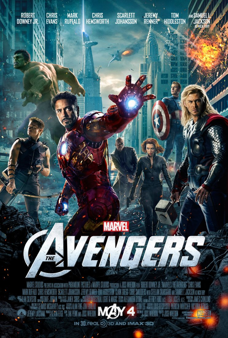 > The Avengers (2012) - Photo posted in New Big Screen and DVD Movie Ratings | Sign in and leave a comment below!