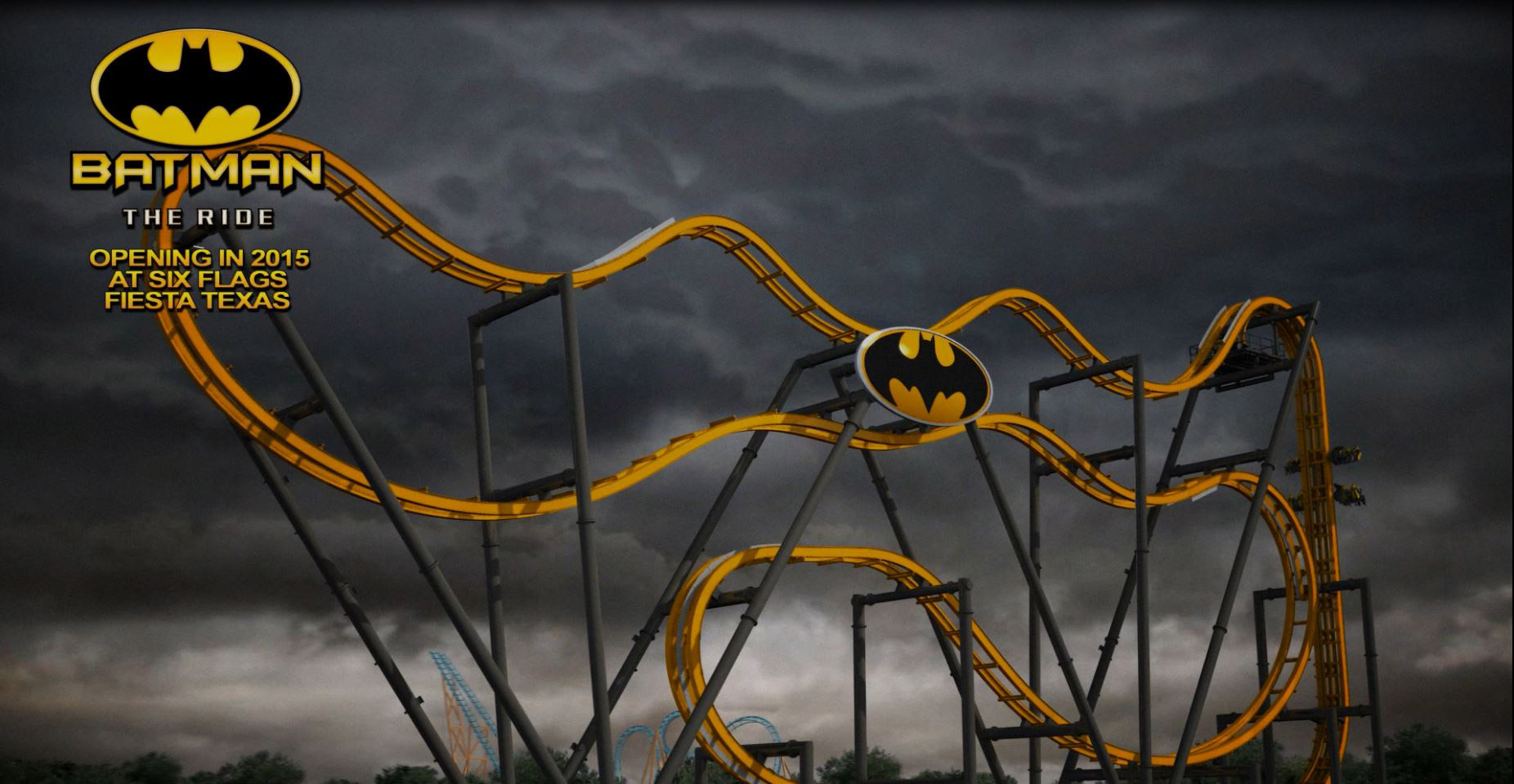 Batman the ride coming to six flags in summer 2015 4d wing coaster
