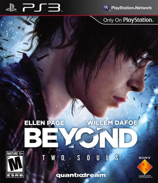 beyond two souls ps3 video game box art
