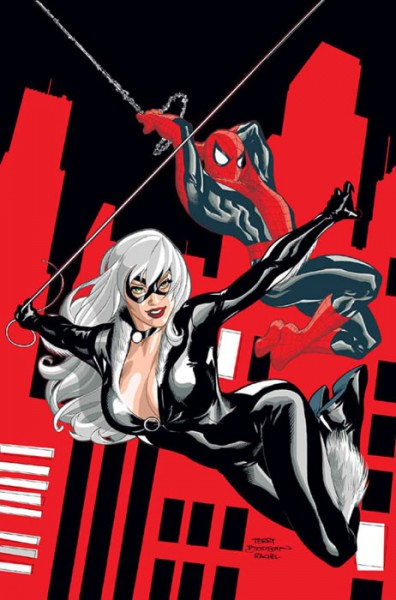 black-cat-spider-man-terry-dodson