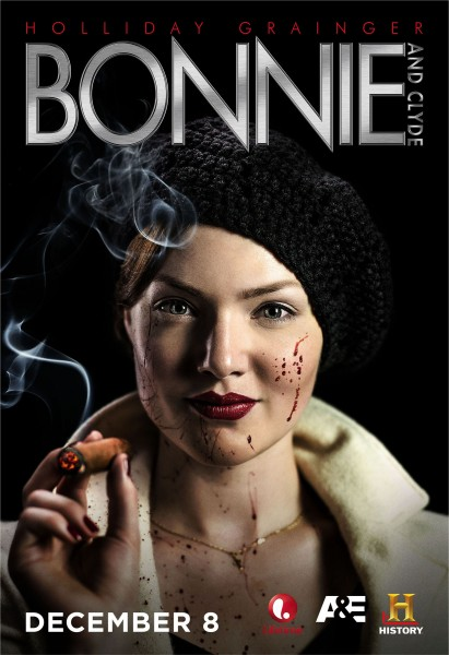 bonnie and clyde holliday grainger poster