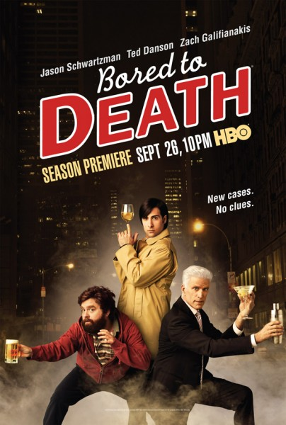 bored to death season two poster