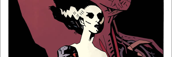 The Bride Of Frankenstein Poster By Mike Mignola Collider