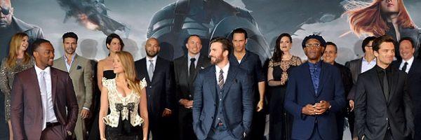 Captain America 2 Interview Chris Evans Scarlett Johansson