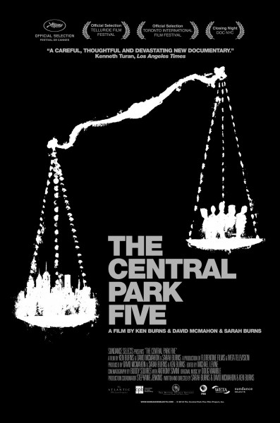 central-park-five-poster
