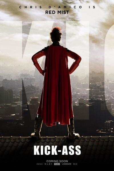 Chris D'Amico Red Mist Kick-Ass movie poster