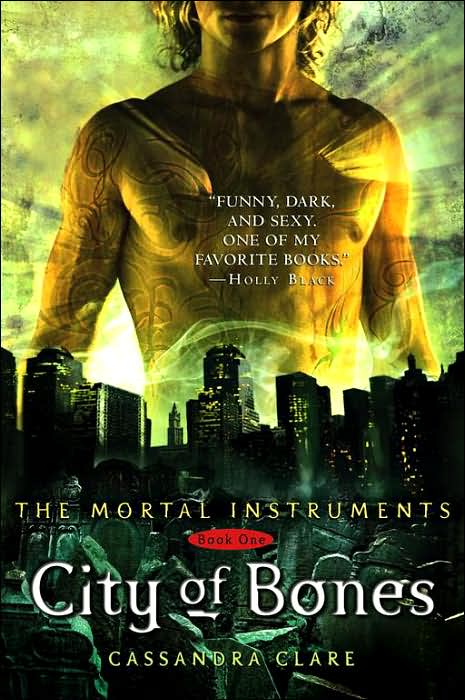 city of bones cover. What can you tell people about