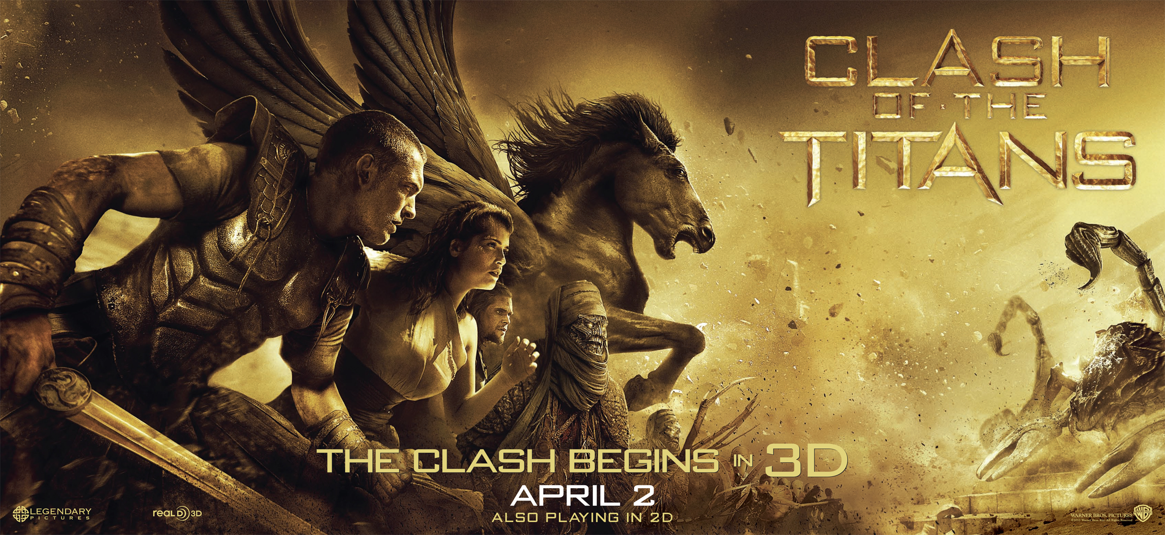 compare clash of titans movie For more about clash of the titans 3d and the clash of the titans 3d blu-ray release warner brothers' german blu-ray release of clash of the titans does feature the 2d version of the movie clash of the titans announced: 313.