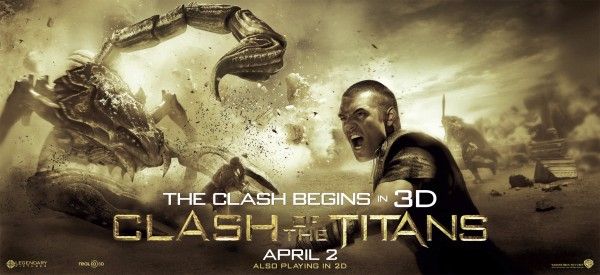 Clash of the Titans movie poster 3D 1