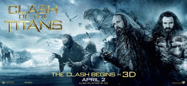 Clash of the Titans movie poster 3D