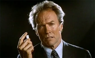 PSA Sunday: Clint Eastwood's Crack Cocaine PSA From the 80's