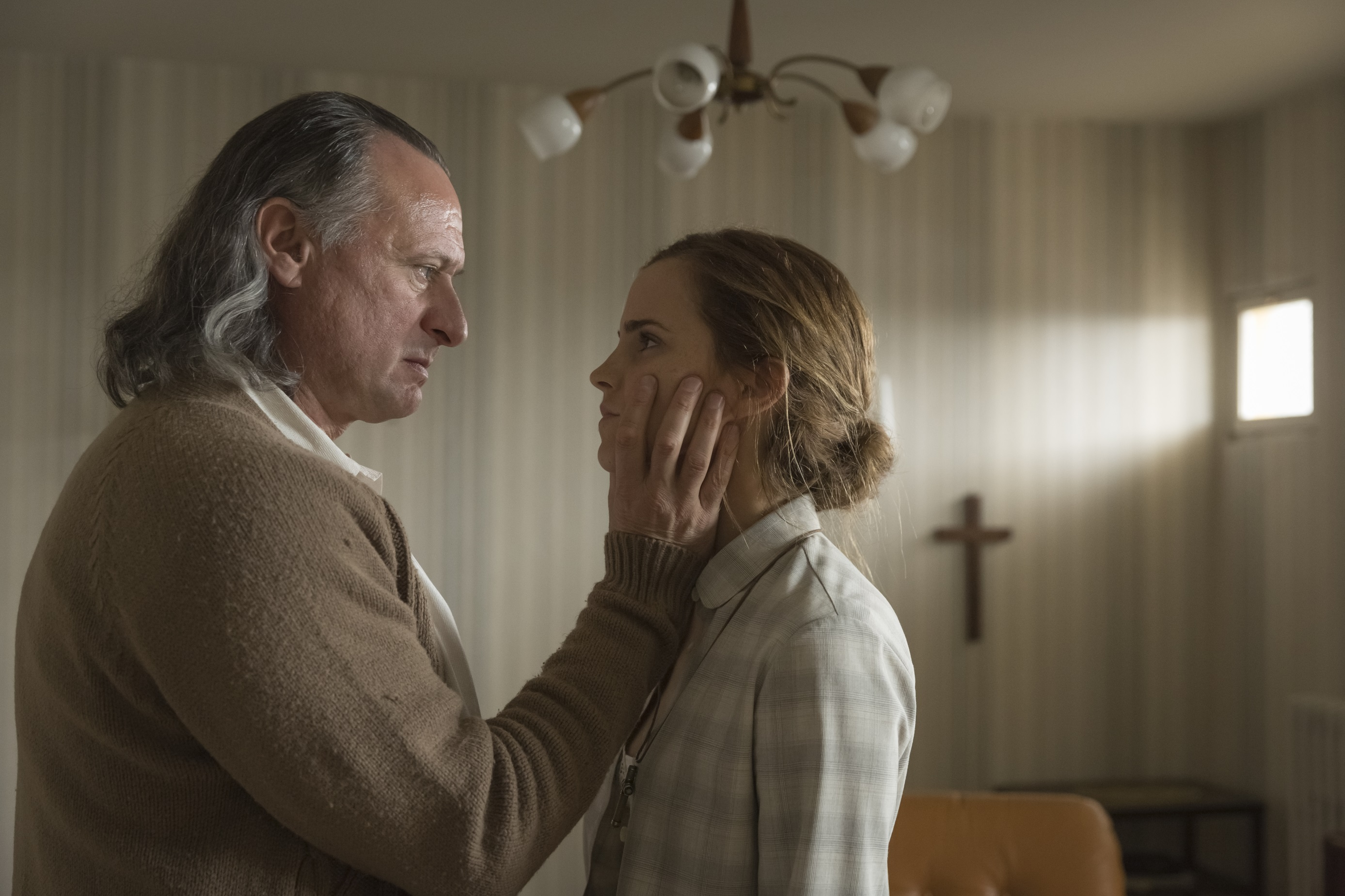 Emma Watson: First HQ picture of Emma Watson and Michael Nyqvist in