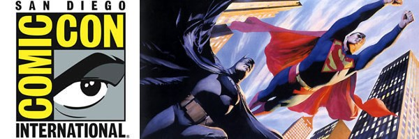 comic con superman batman worlds finest slice