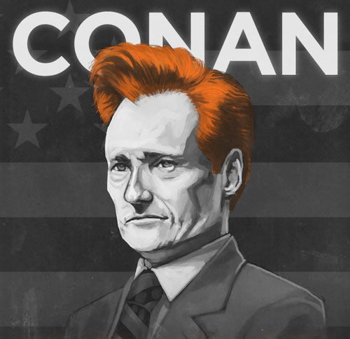 Conan O Brien - New Photos