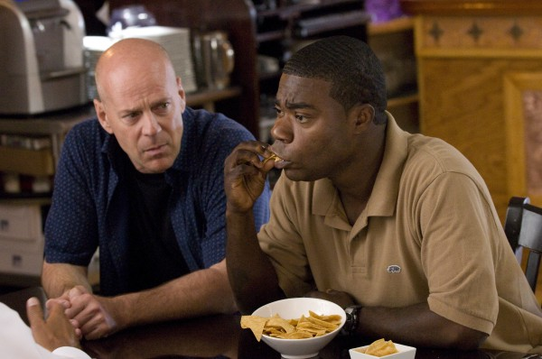 Cop Out movie image Bruce Willis and Tracy Morgan