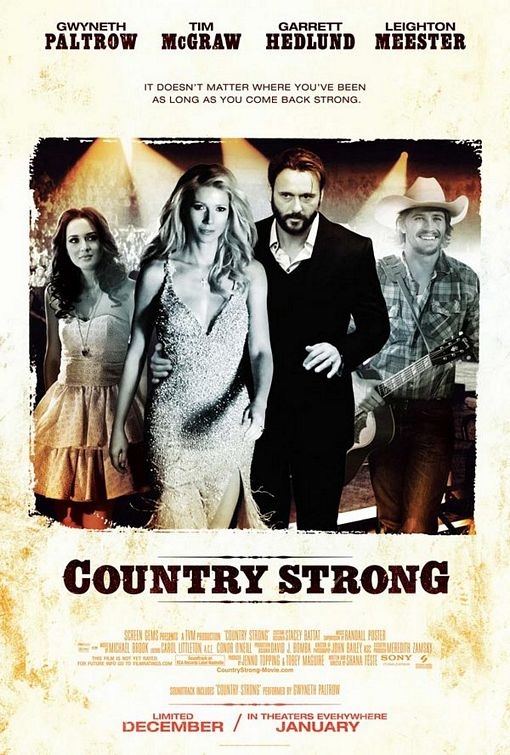 Country Strong [2010] PPVRip Xvid AC3 LKRG