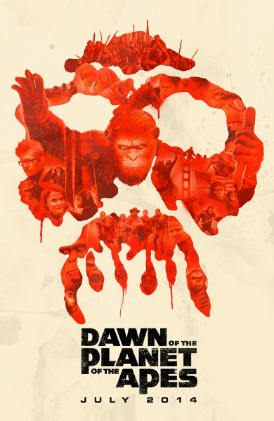 dawn of the planet of the apes poster janee meadows