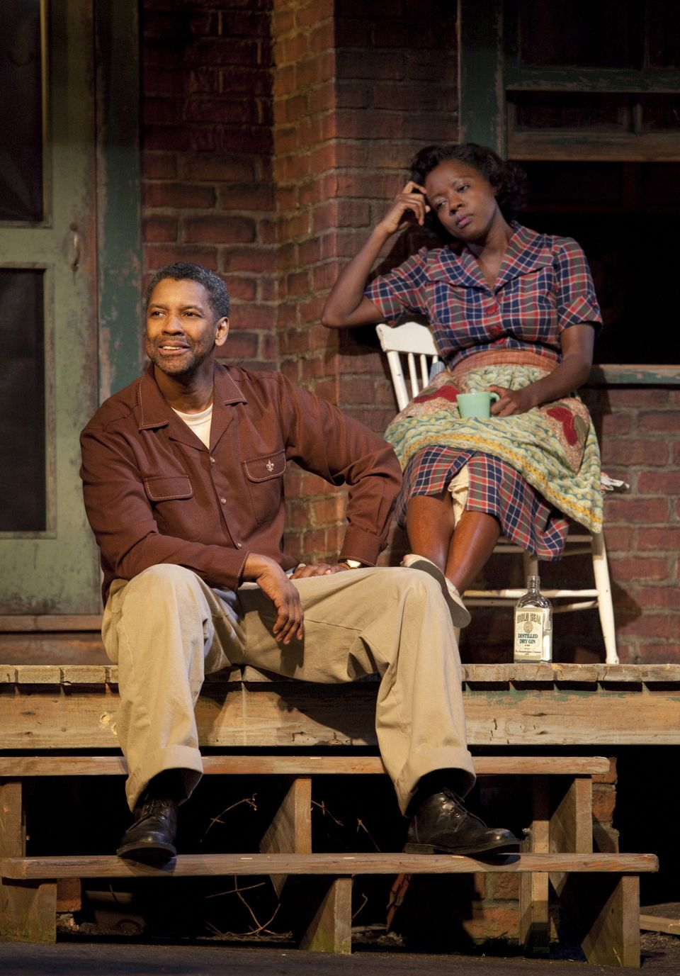 fences play by august wilson review Movie review  fences, the film adaptation of the pulitzer prize-winning play  by distinguished playwright august wilson, was produced and directed by  denzel washington, who also stars, in the role he played to great.