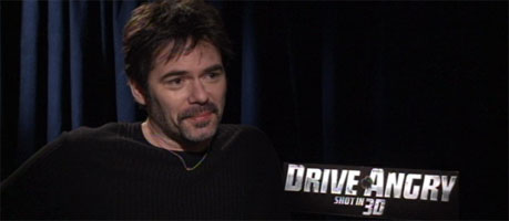 Billy Burke Video Interview DRIVE ANGRY 3D slice
