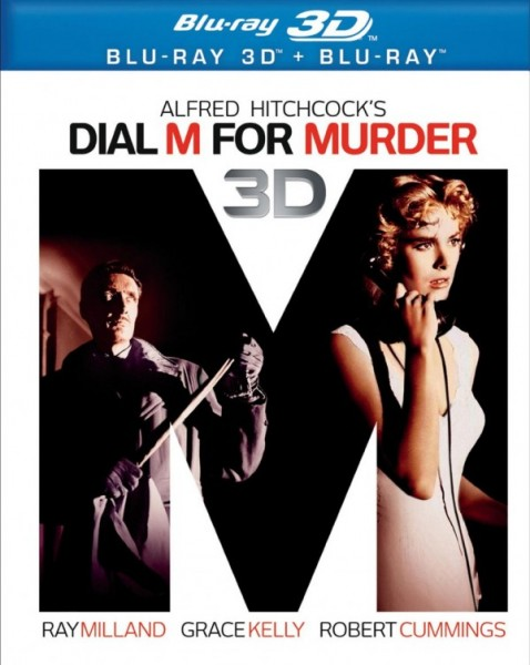 dial m for murder blu ray cover