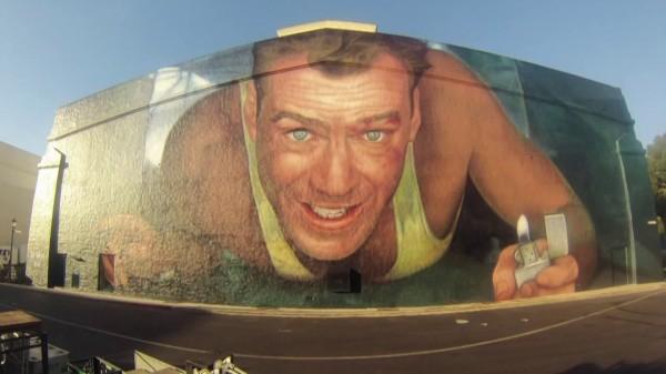 die hard mural