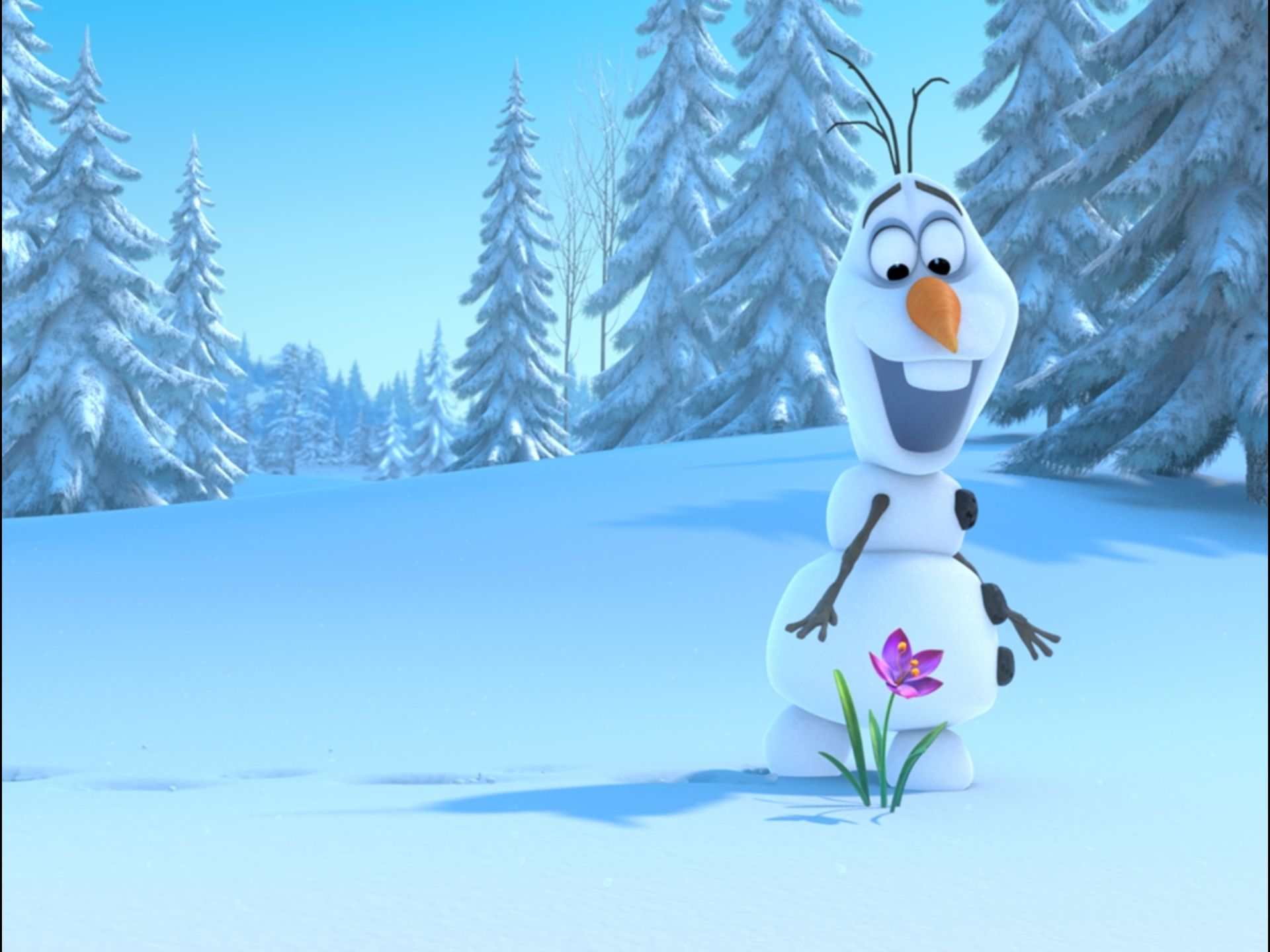 First Images from Disney's Animated Film FROZEN