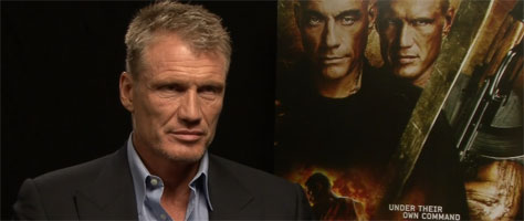 Dolph Lundgren Talks U...