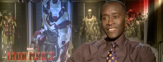Don Cheadle Talks IRON MAN 3, CAPTAIN PLANET, AVENGERS 2 and