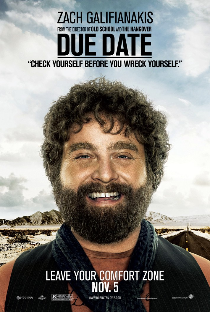 zach galifianakis hangover poster. DUE DATE, THE HANGOVER 2