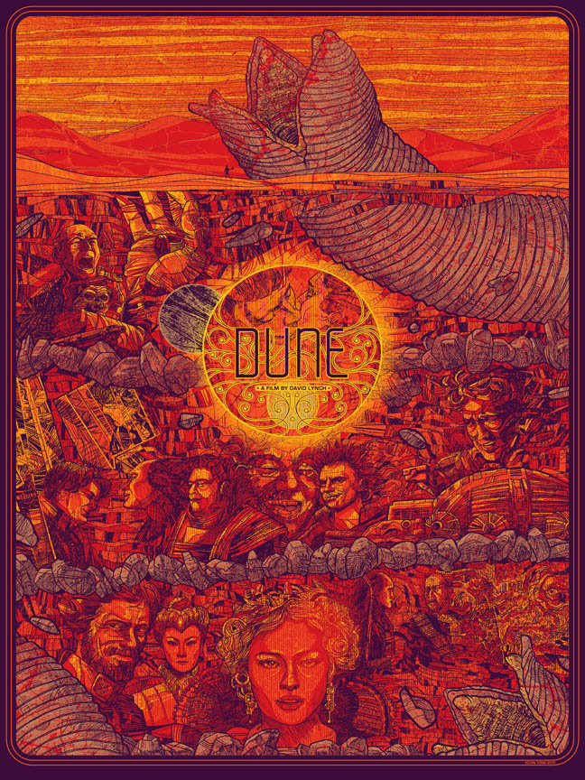 Kevin Tong S Dune Poster On Sale Tomorrow
