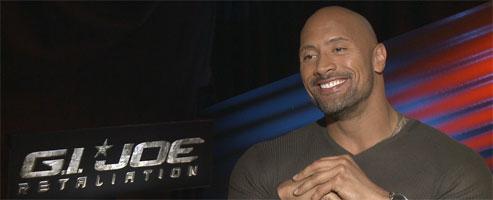 Dwayne Johnson G I Joe 2 Retaliation Pain And Gain Fast