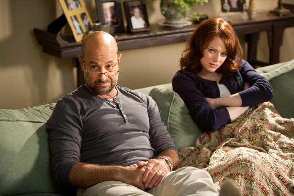 Easy A image Stanley Tucci, Emma Stone