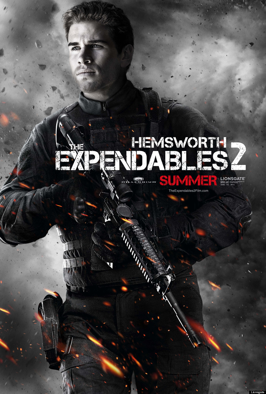 the expendables 2 movie poster bruce willis collider